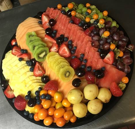 fruit platter. Catering nyc